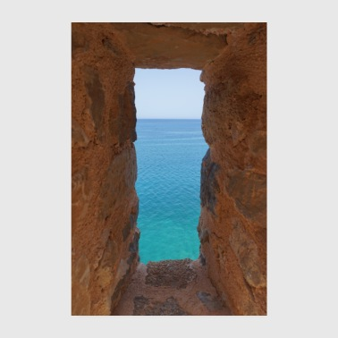 Window to the sea - Poster 8 x 12