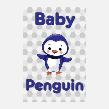 Baby Baby Penguin Penguin Baby Animal - Poster