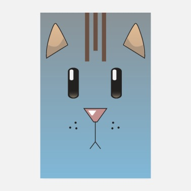 Piccolo CatFace Poster (petcontest) - Poster
