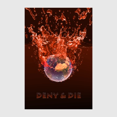 The Global Warming Global Warming Red Edition - Poster 8 x 12