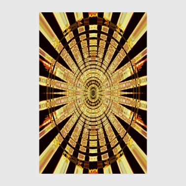 Cercle d'or - Poster 20 x 30 cm