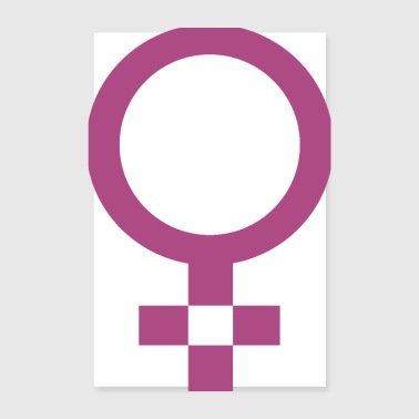 Female woman gift idea - Poster 8 x 12