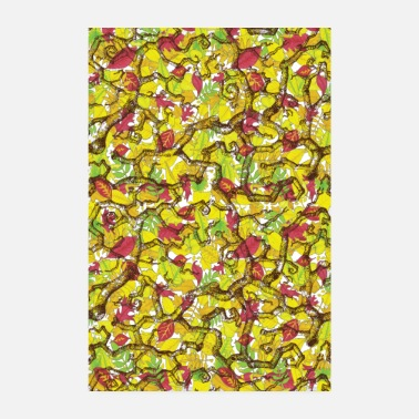 Snack Snack on leaves POSTER - Poster