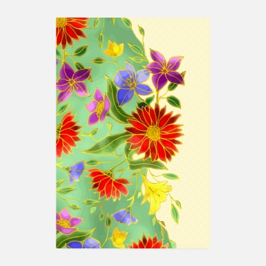 Flowers flowers - Poster