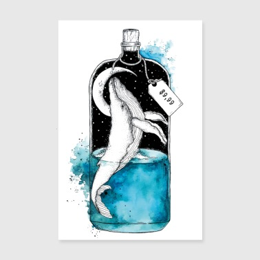 Message in a bottle - Poster 8 x 12