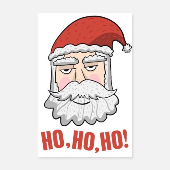Regali Di Babbo Natale.Regalo Di Babbo Natale Di Babbo Natale Poster Spreadshirt