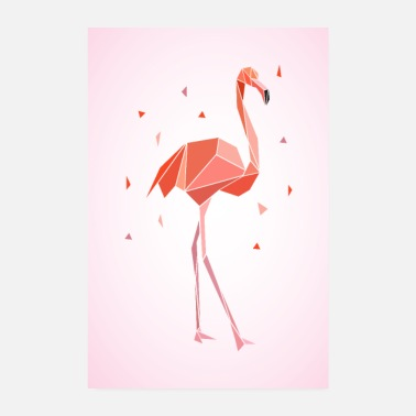 Recreational flamingo - Poster 8 x 12