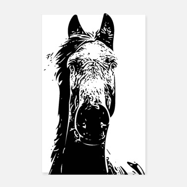 Horse Horse Head - Poster
