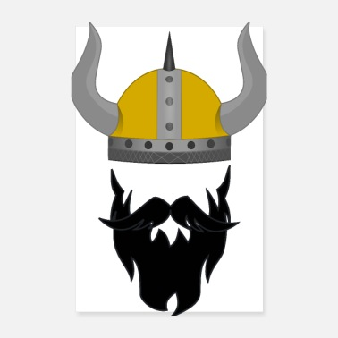 Celtic viking - Poster 20x30 cm