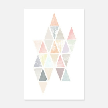 Triangle Motif triangle - Poster