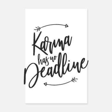 Date Karma has no deadline - Poster