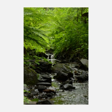 Stroom Poster Nature Bach Nature is Beautiful - Poster 20x30 cm