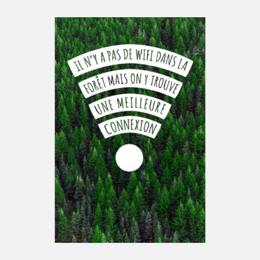 Forest connection - Poster 8 x 12 (20x30 cm)