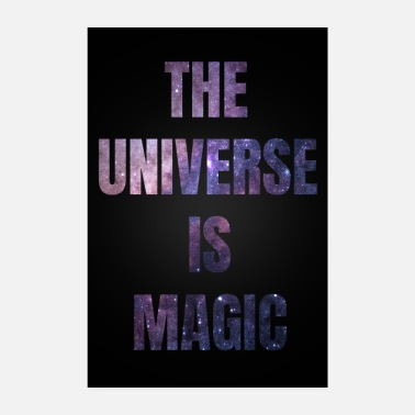 Sternchen The Universe is Magic - Poster