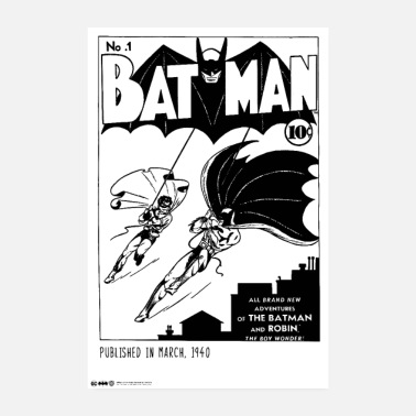 Batman Comic First Edition - Juliste 20x30 cm