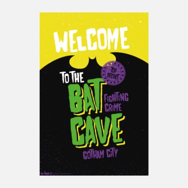 Officialbrands Batman Welcome To The Bat Cave - Poster