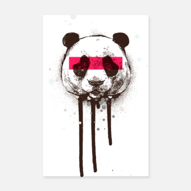 Graffiti BEAR | Graffiti | Vægmaleri | Street Art | abstrakt - Poster