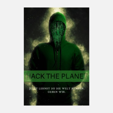 Pc Hack the Planet - Poster