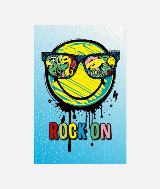 Poster Grafitti Posters - SmileyWorld Rock On - Posters wit
