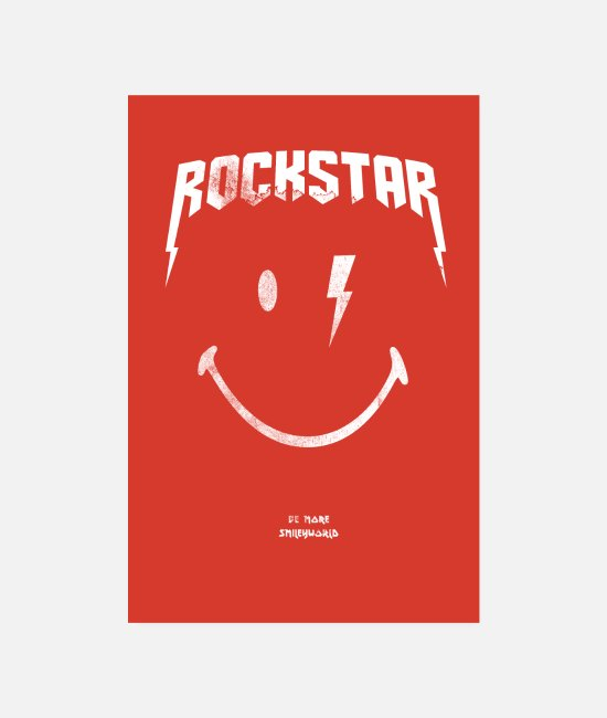Official License Posters - SmileyWorld Rockstar - Posters wit