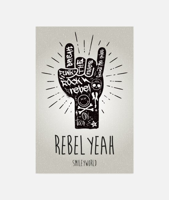 Official License Posters - SmileyWorld Rebel Yeah - Posters wit