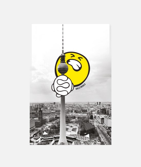 Poster Posters - SmileyWorld Berlin Television Tower - Posters wit