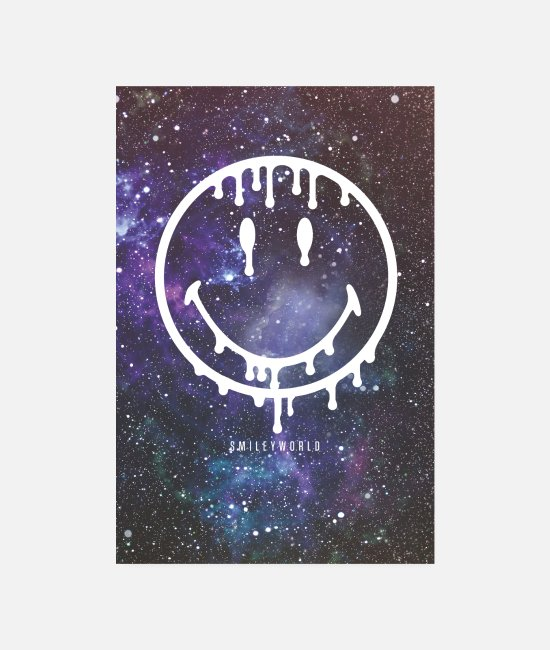 Space Posters - SmileyWorld Space Smiley - Posters wit