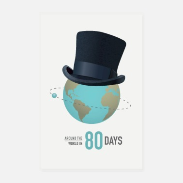 Steve Around the World in 80 Days - Poster
