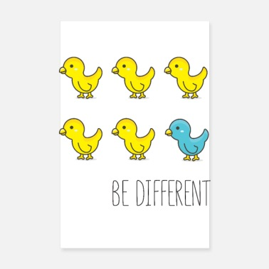 Be Different Be Different - Poster