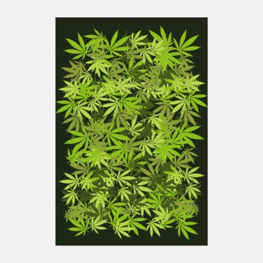 Hanf Weed - Poster