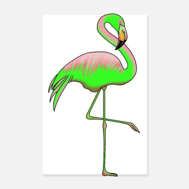 Trend Flamingo Trend Poster - Poster