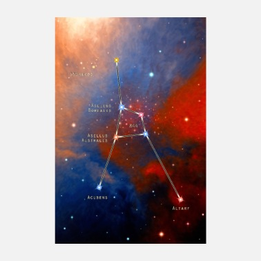 Constellation cancer - Poster