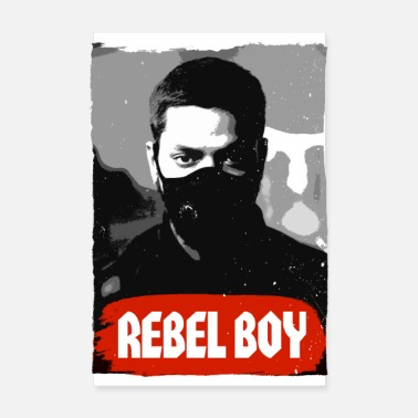 Rude Girl Rebel Boy - Poster