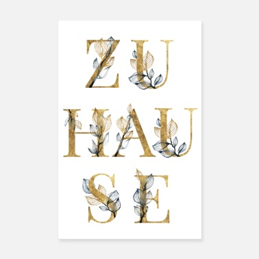 Zuhause Zuhause - Home - Poster