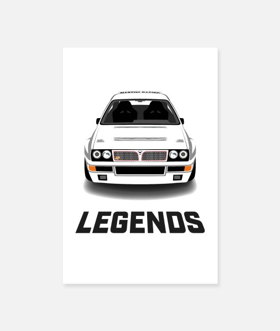 Auto Posters - LEGENDS DELTA - Posters blanc
