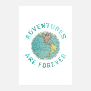 Adventure Adventures forever - Poster