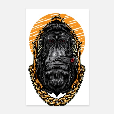 Rap The king among the monkeys - Poster