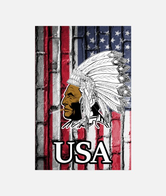 Usa Posters - USA - Posters white