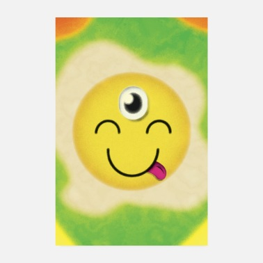 The third eye emoji - Poster