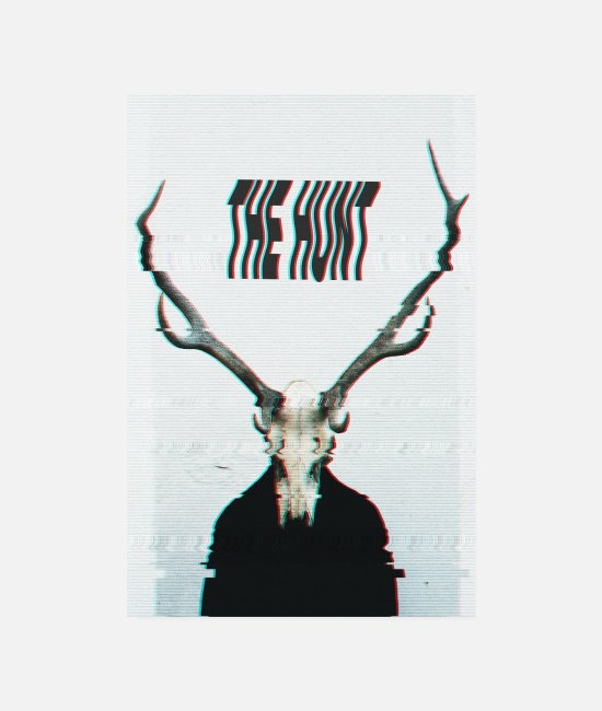 Wave Posters - The Hunt poster - Posters white