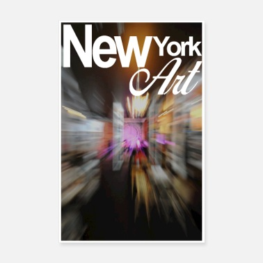 New York Art - Poster
