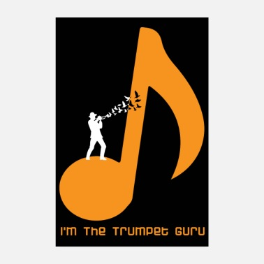 Trumpets Trumpet Musician Poster - Poster