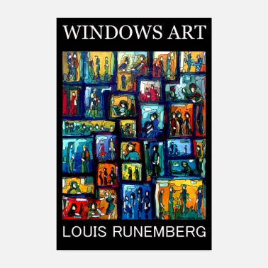 Windows WINDOWS ART LOUIS RUNEMBERG GALLERI PLAKAT - Poster