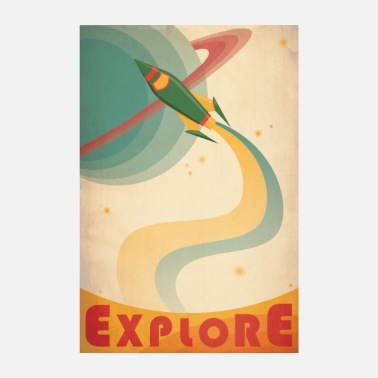 Vintage Collection discoverer - Poster