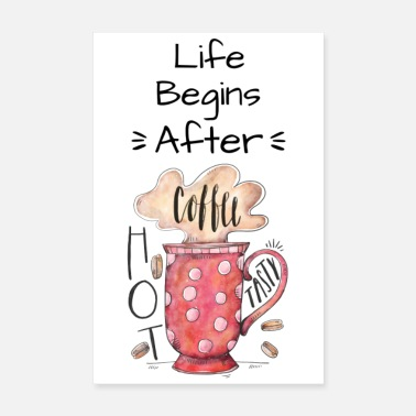 Bestsellers Q4 2018 First of all coffee - Poster