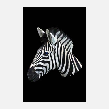 Alphabet ZEBRA CADEAU AFRIQUE ALPHABET SAVANNE ANIMAL HORSE - Poster