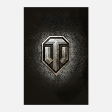 Officialbrands World of Tanks WoT logo - Poster 8 x 12