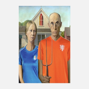 Sports worldcup Gothic - Poster 20x30 cm