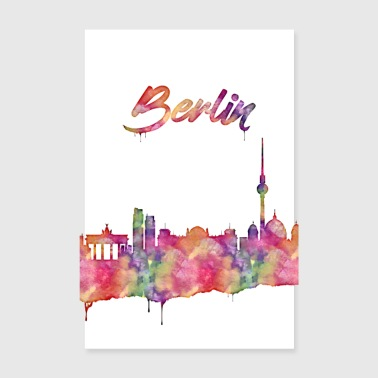 Berlin is a beautiful city - Poster 8 x 12