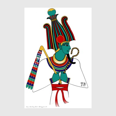 Cult POSTER: Osiris, ancient Egyptian deity - Poster 8 x 12